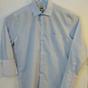 Joseph Abboud Mens Sz L No Wrinkles Dress Shirt